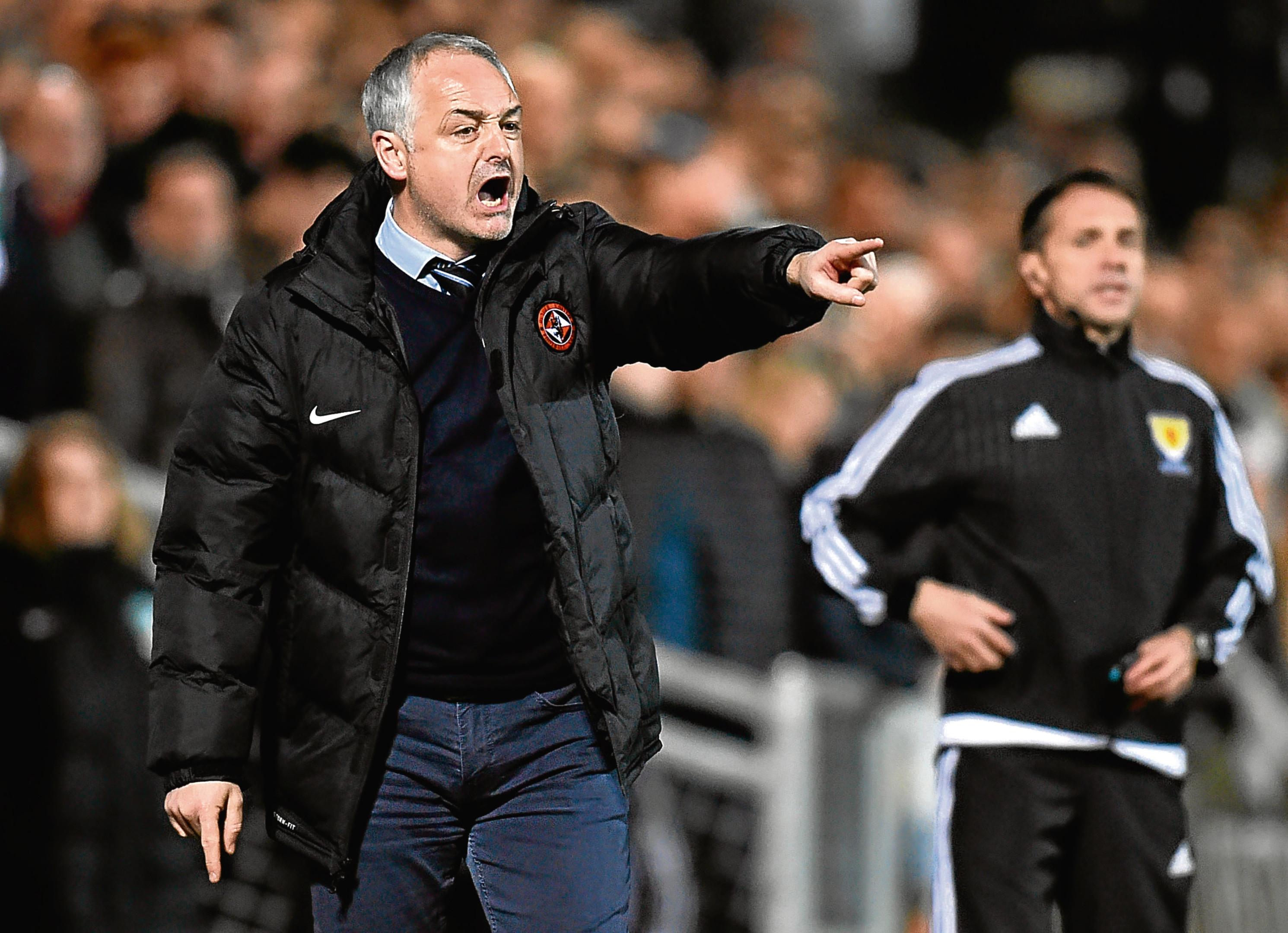 10/03/17 LADBROKES CHAMPIONSHIP   DUNDEE UNITED v HIBERNIAN (0-1)  TANNADICE PARK - DUNDEE   Dundee United manager Ray McKinnon