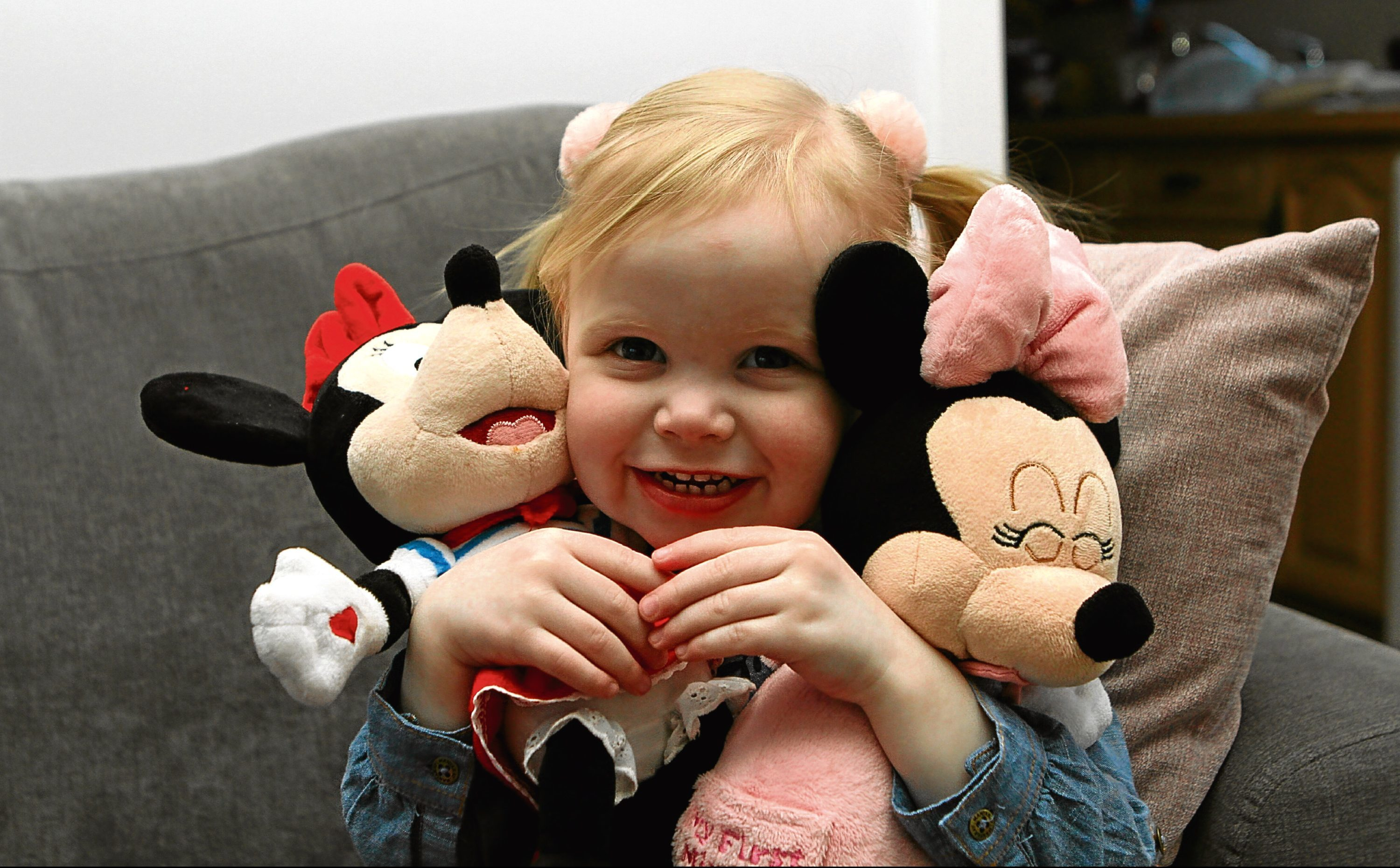 Little Zoe has been diagnosed with cystic fibrosis, a life-shortening condition