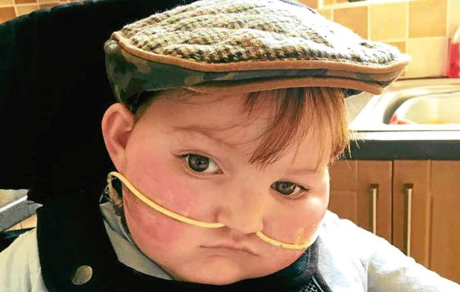 Four-year-old Blake McMillan has MECP2 Duplication Syndrome, which means he is at the developmental level of a two-month-old baby and suffers from a number of health issues, which may  ultimately shorten his life