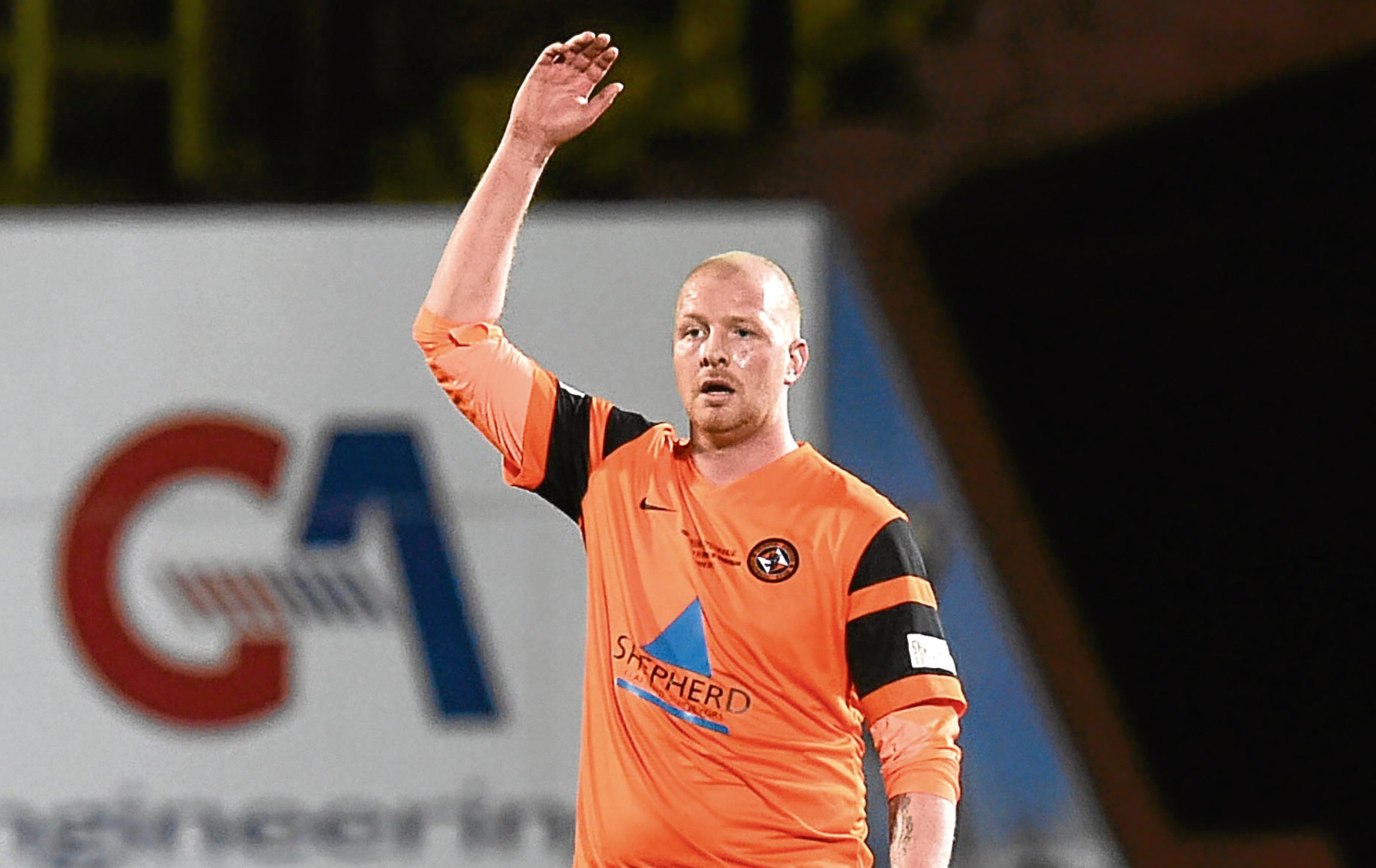 Garry Kenneth was delighted to play in front of Arabs at Sean Dillon's testimonial
