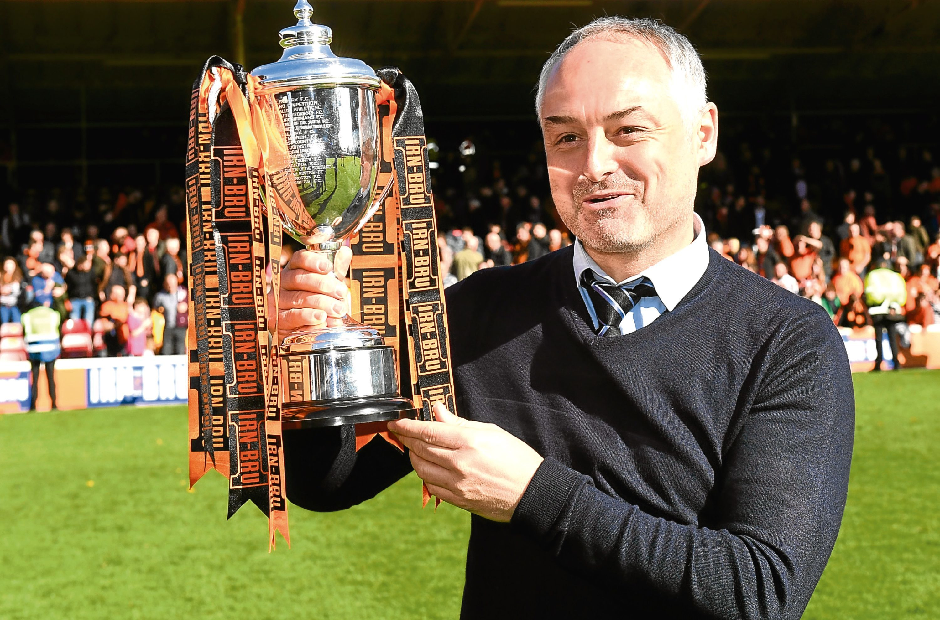 Manager Ray McKinnon joins an esteemed list of United fans to have guided the club to success, and admits his pride for his players is paramount