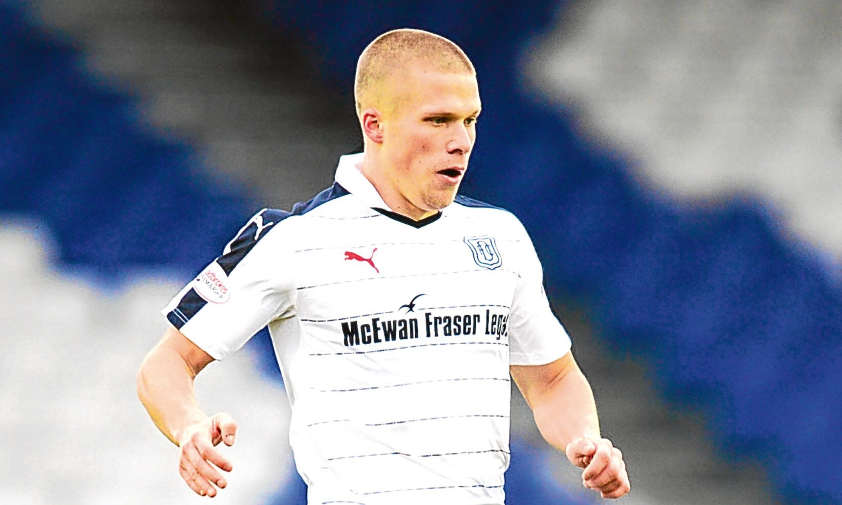 Henrik Ojamaa will be a late returner to Dundee training after international duty