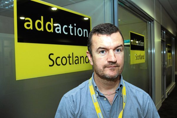 Dave Barrie, service manager for Addaction