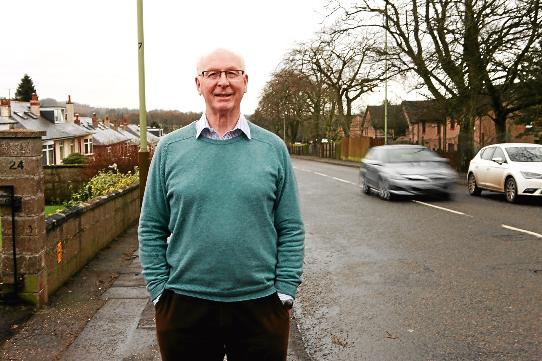 Brian Kennedy on Harestane Road