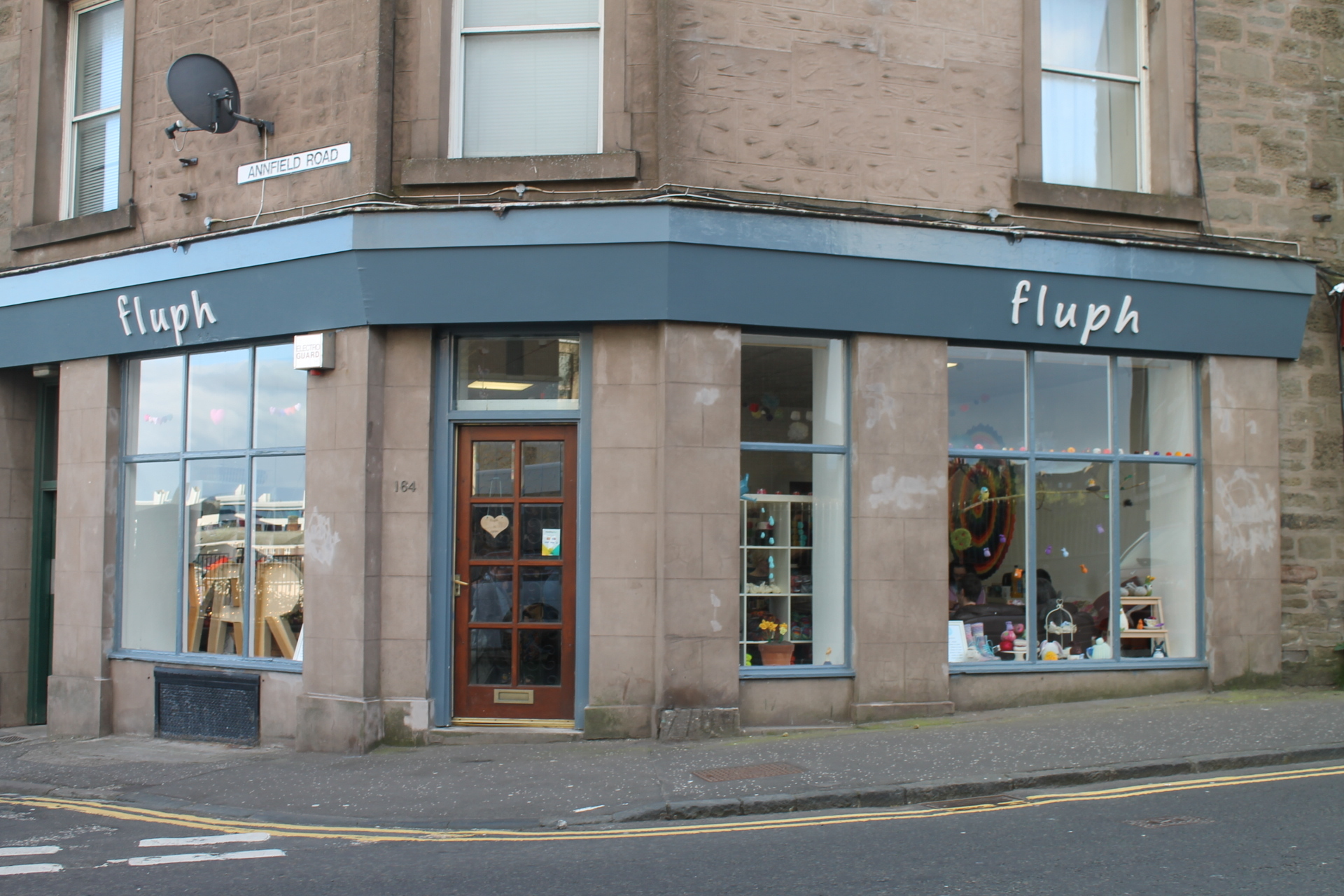Fluph on Blackness Road