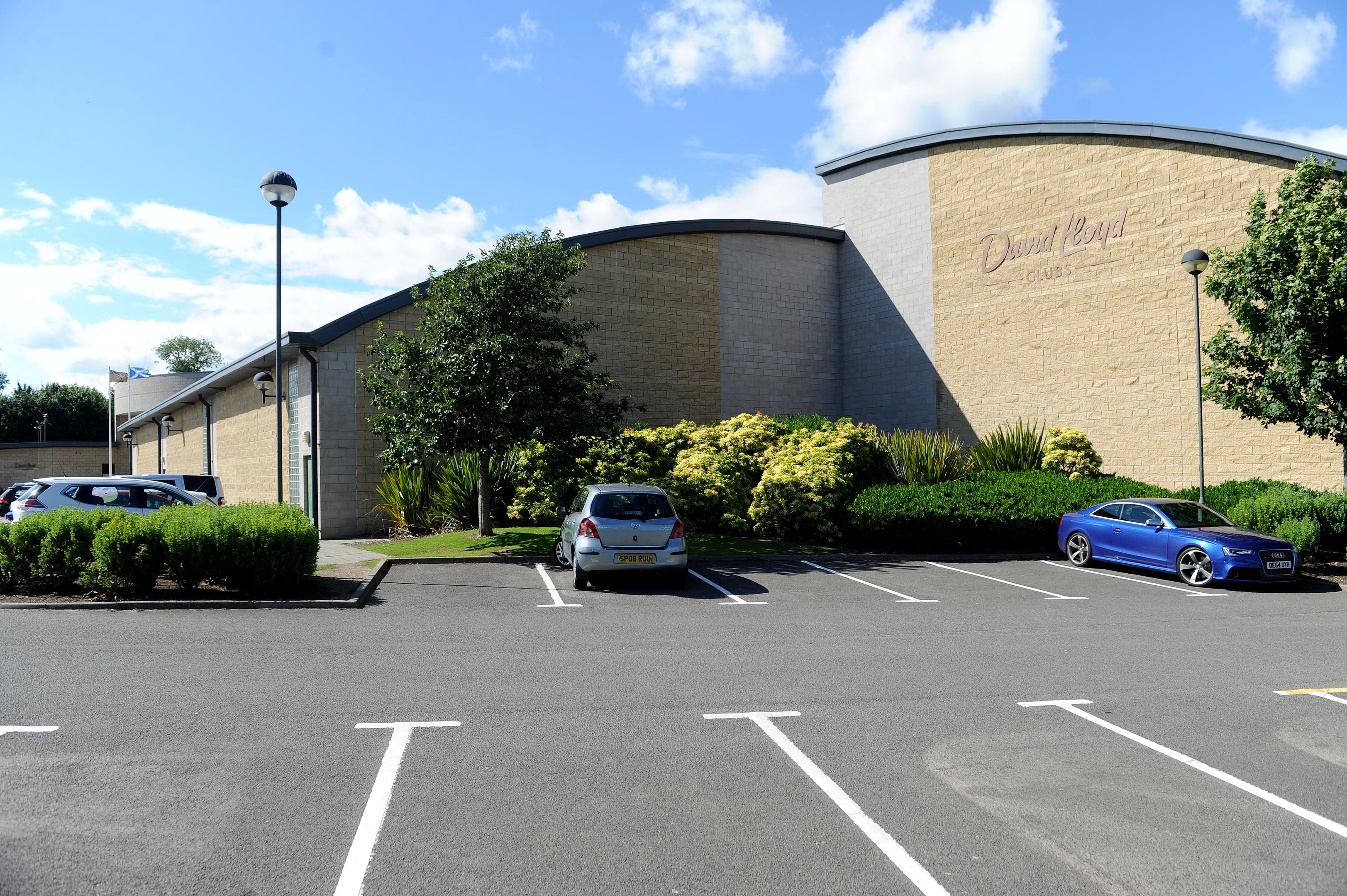 The David Lloyd fitness club at Ethiebeaton Park