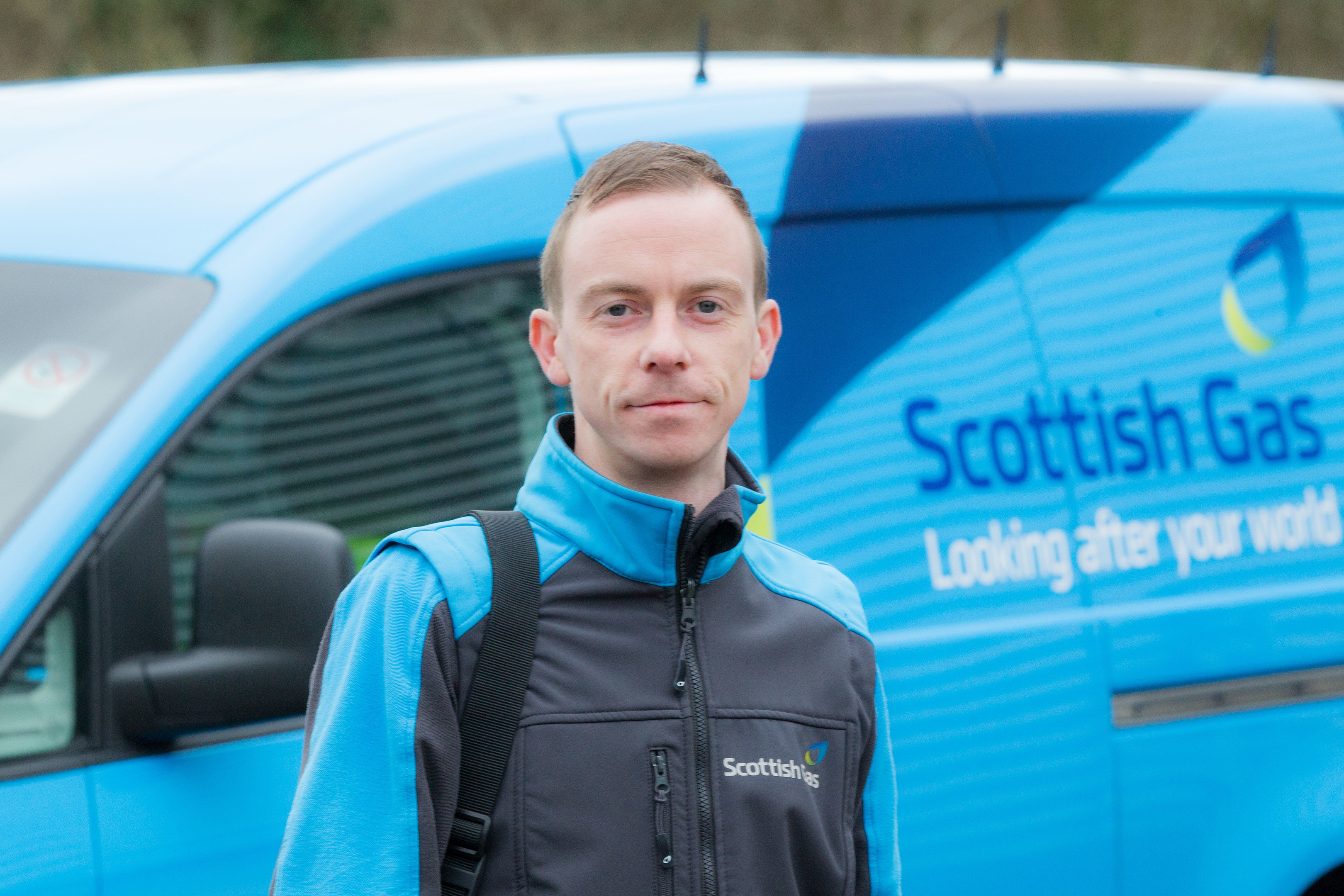 Scottish Gas apprentice Paul Cartright