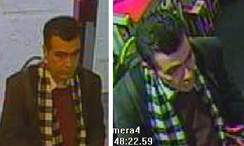 CCTV images of the man they want to speak to.