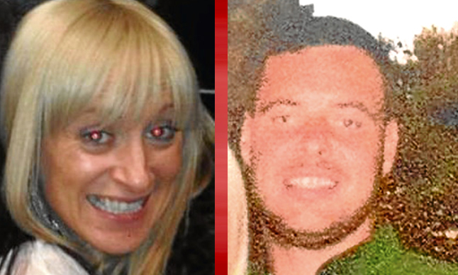 Victims Julie McCash and David Sorrie
