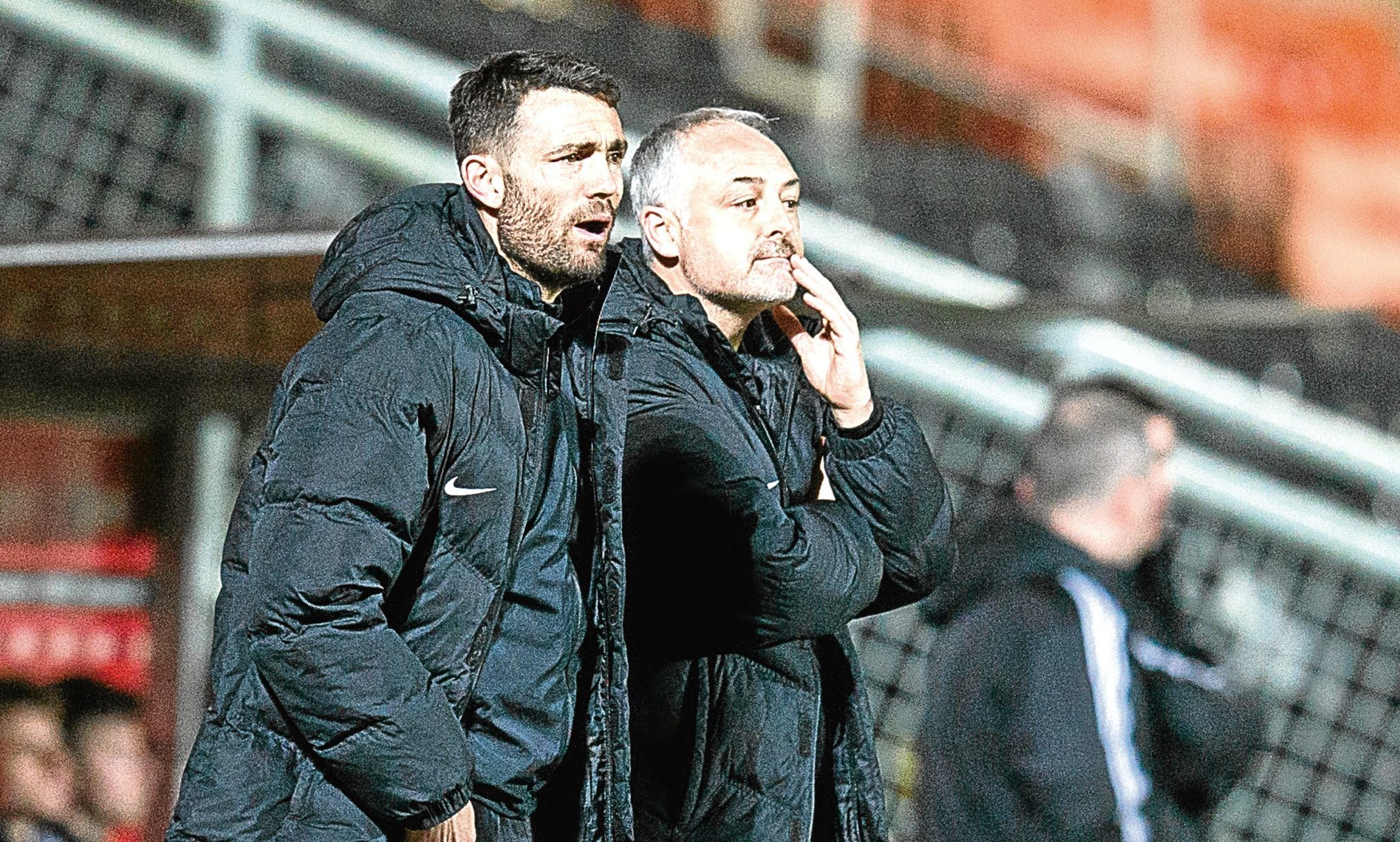 Ray McKinnon bemoaned the lack of fight from his side.