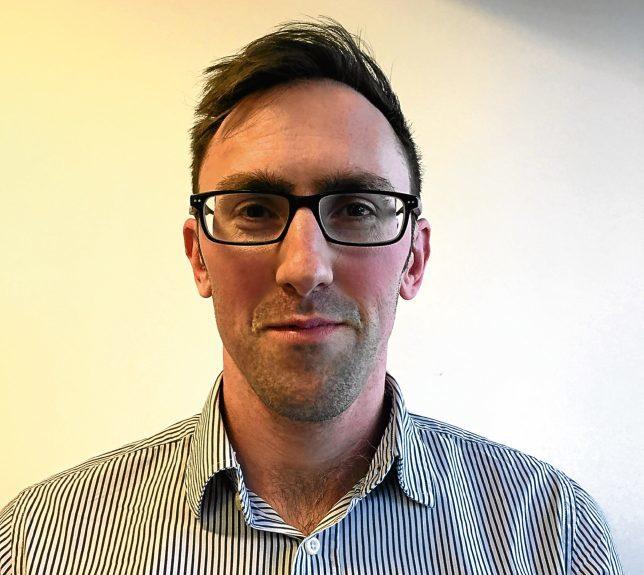 Luke Macauley, head of the Scottish Safety Camera Programme.