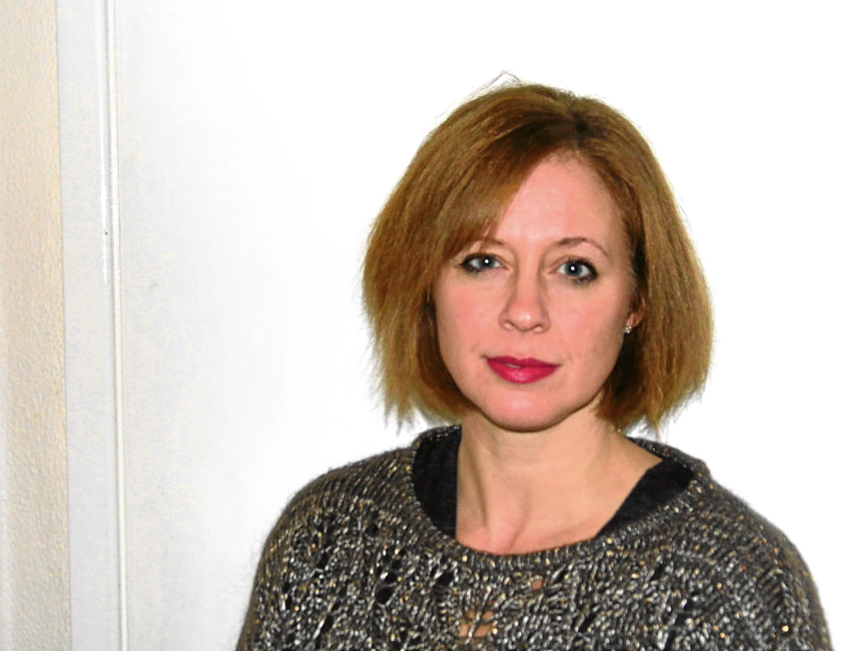 Justine Craig, head of midwifery at NHS Tayside