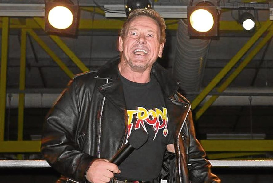 Rowdy Roddy Piper at an event in Perth in 2012.