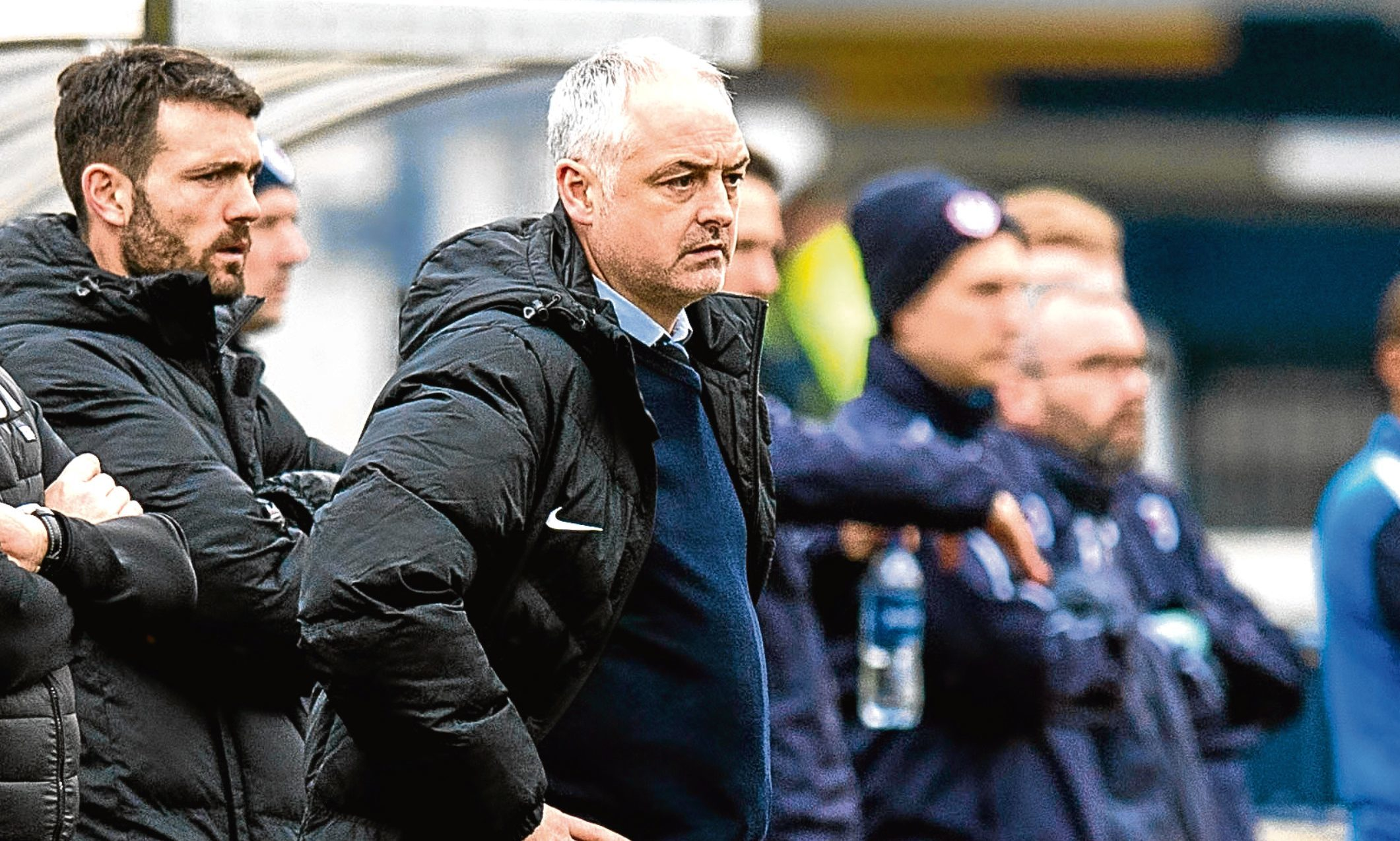 Ray McKinnon could face an unwelcome selection headache as he aims to topple Falkirk and reignites United's bid to climb the play-off places.