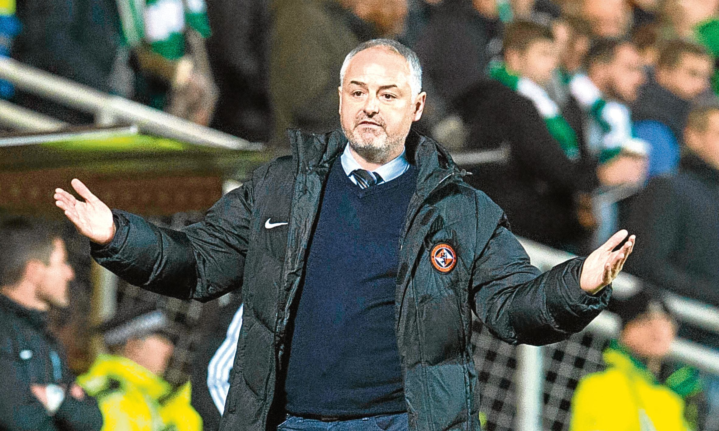 Dundee United gaffer Ray McKinnon
