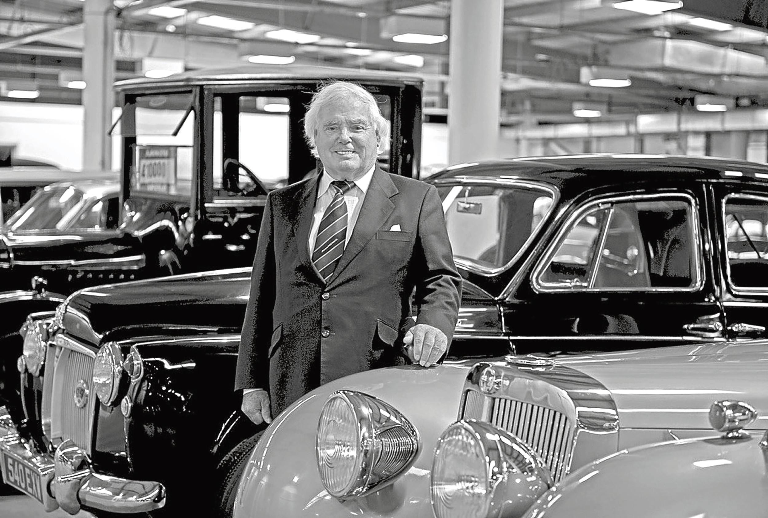 Billionaire Arnold Clark formed his car dealership in Glasgow in 1954