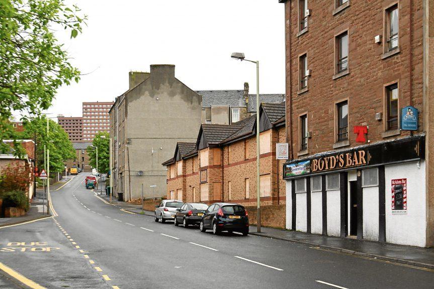 Rosebank Street was the scene of the first break-in.