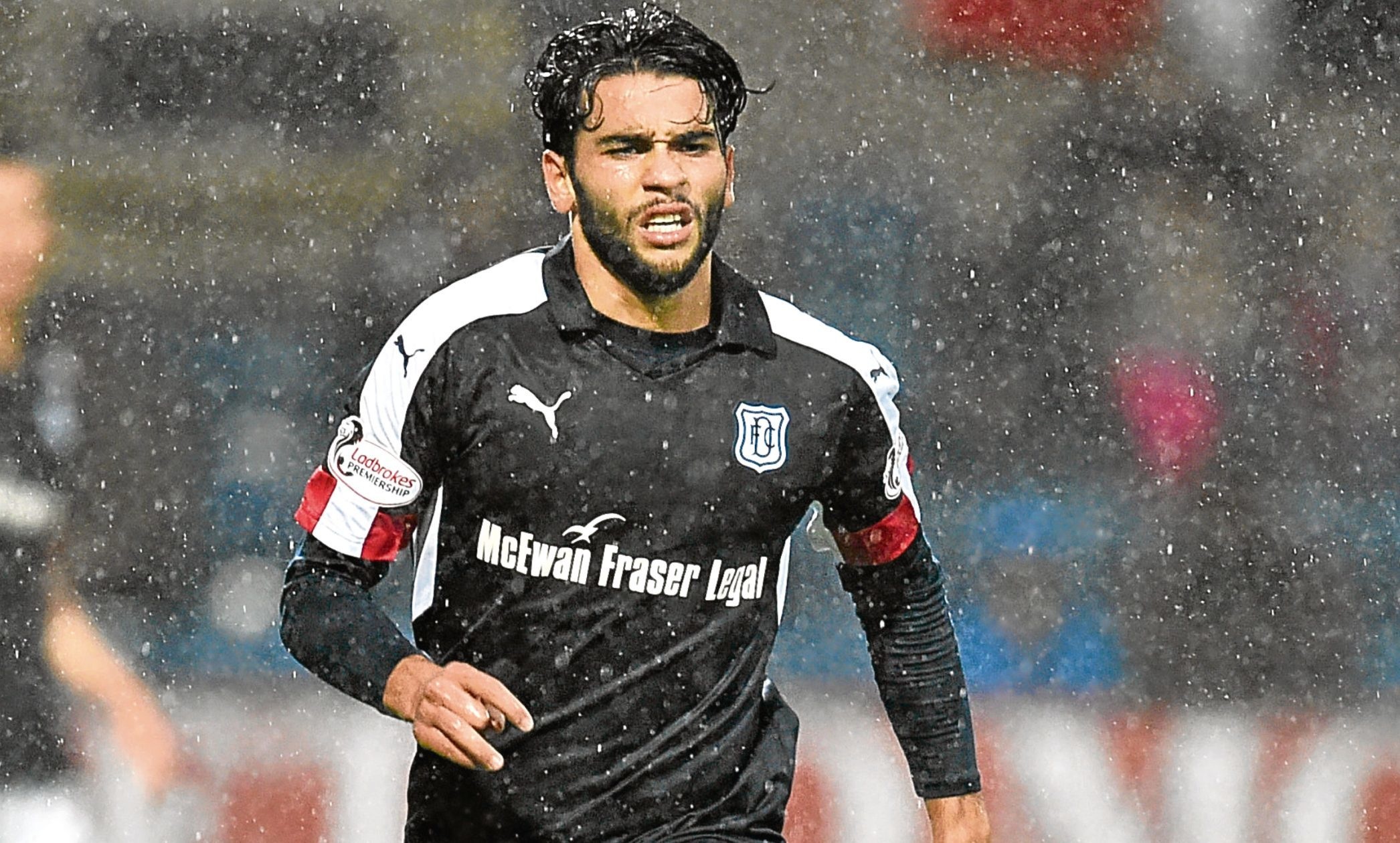 Dundee's Faissal El Bakhtaoui could be back in action
