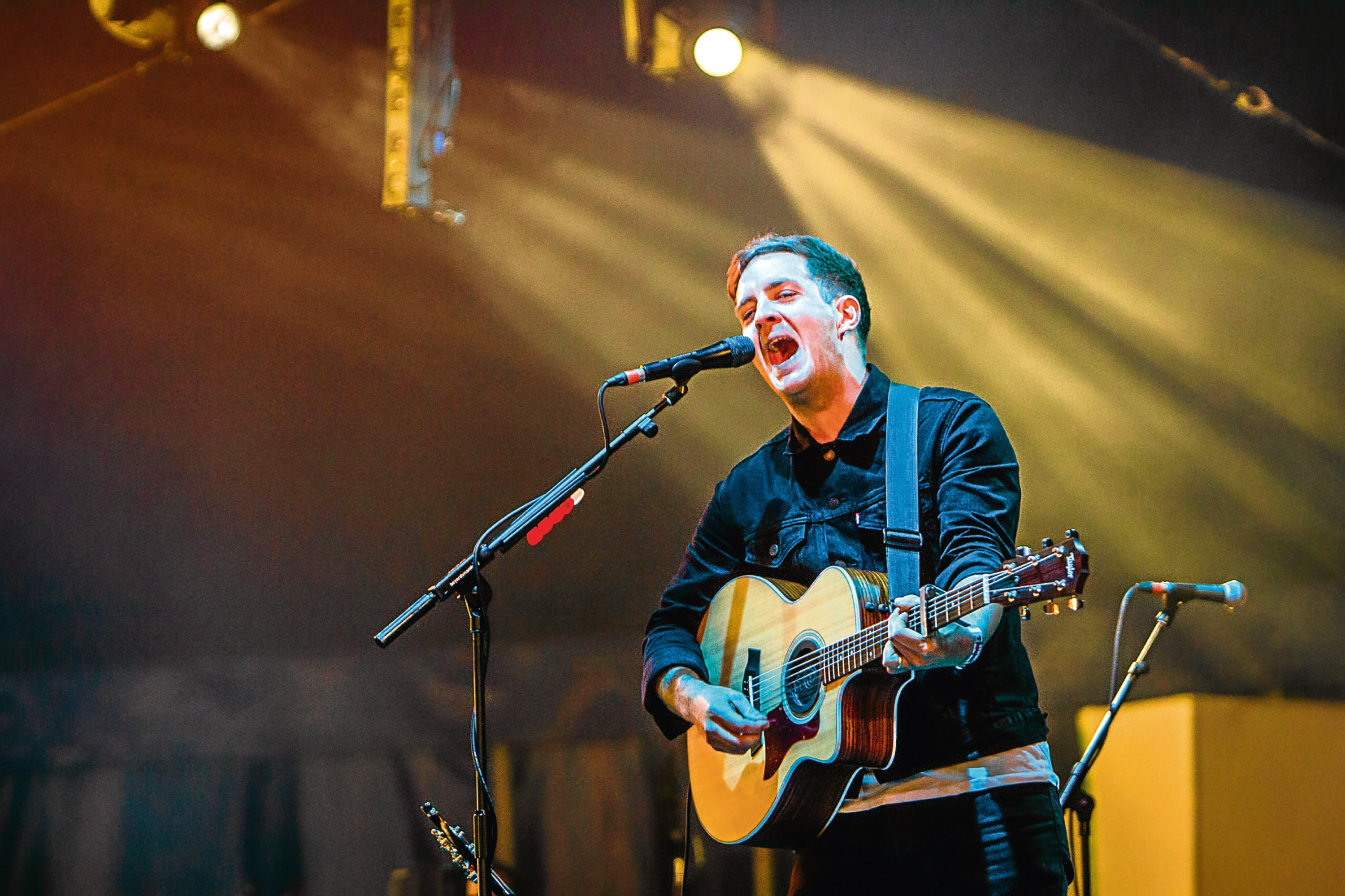 Stevie McCrorie performing at T in the Park