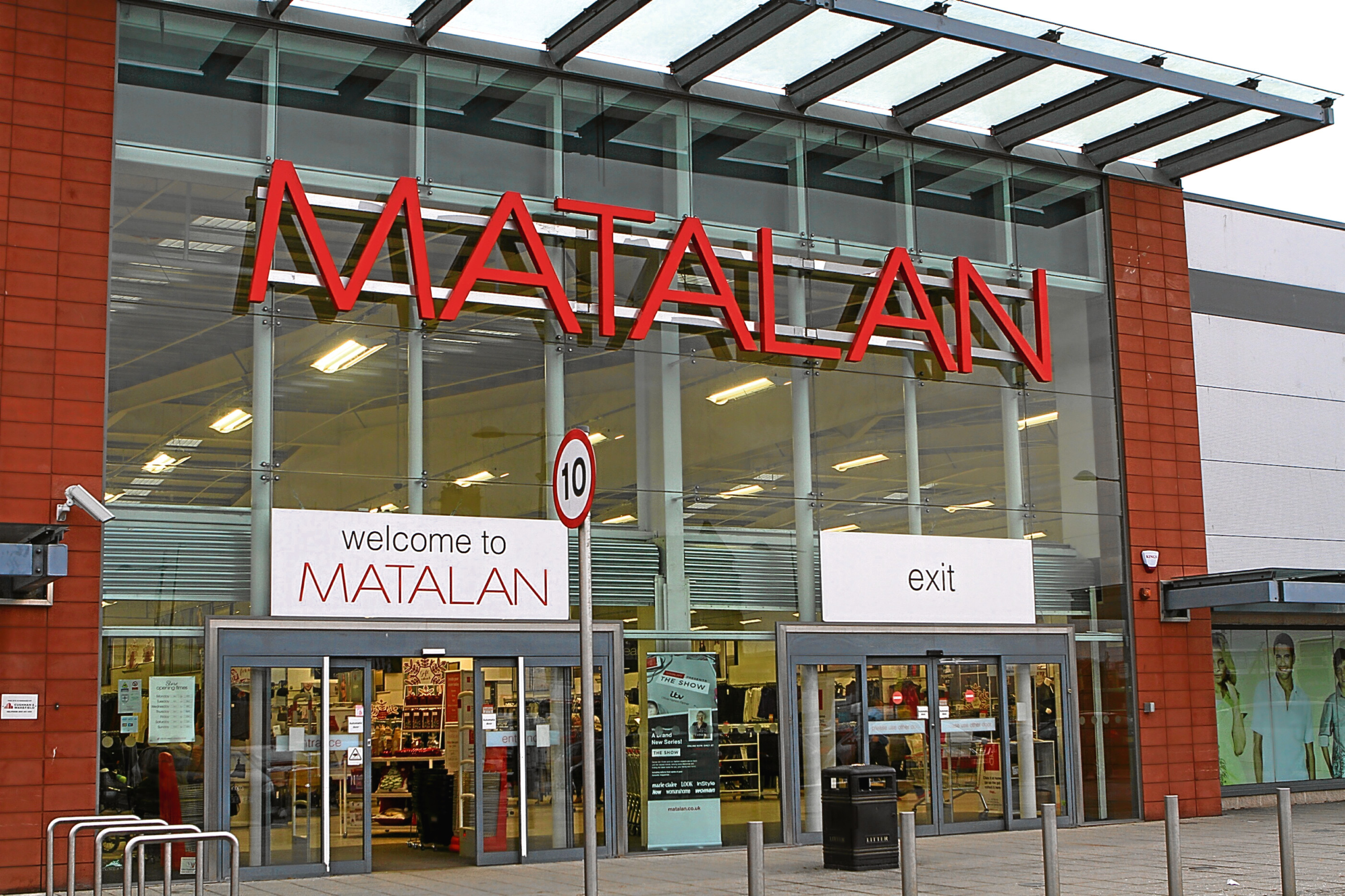 Matalan, which has a Dundee store, charges extra for delivery to the city.