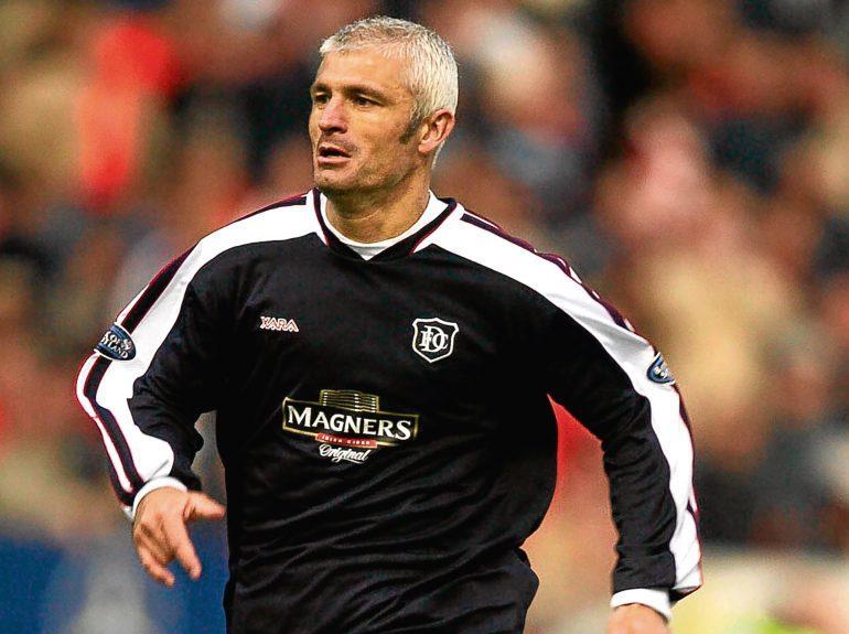Fabrizio Ravanelli in action for DundeeFabrizio Ravanelli in action for Dundee