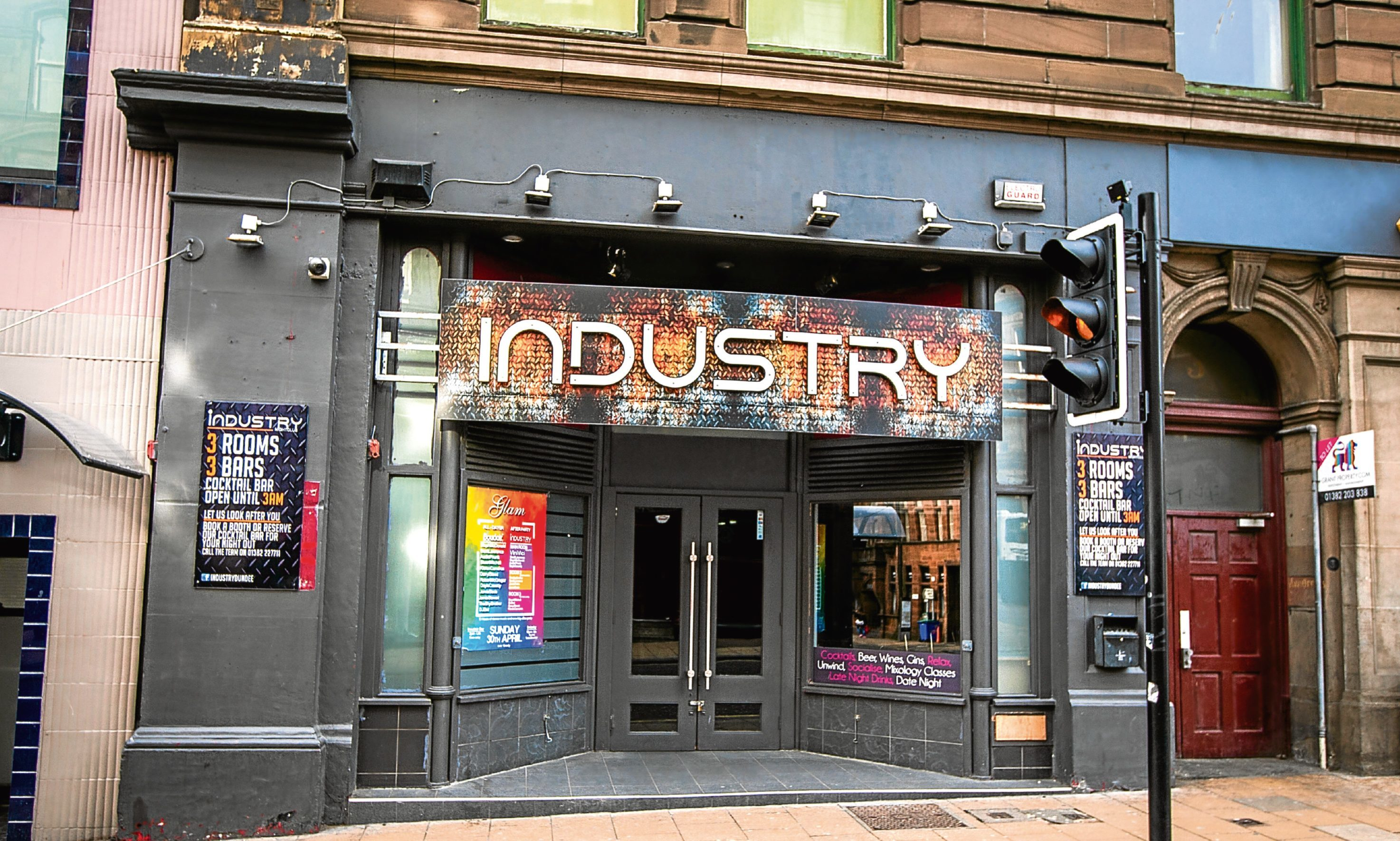 Industry nightclub.
