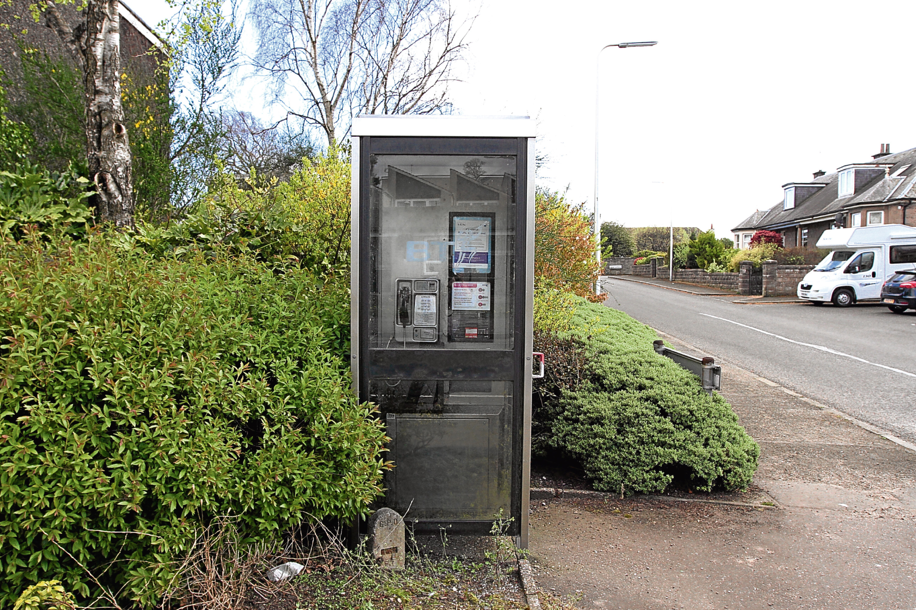 The phone box on Craigie Drive is to be removed.