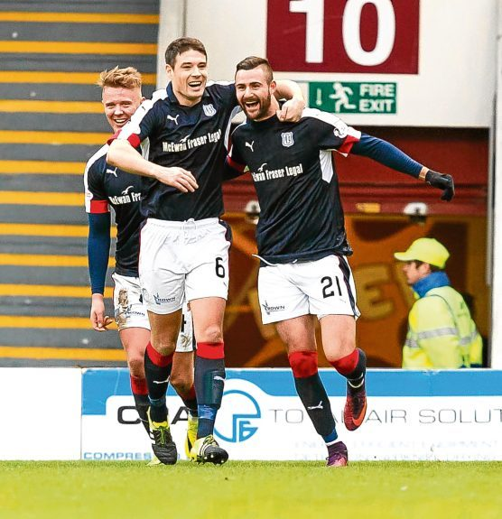 Dundee hammered Motherwell at Fir Park earlier in the season