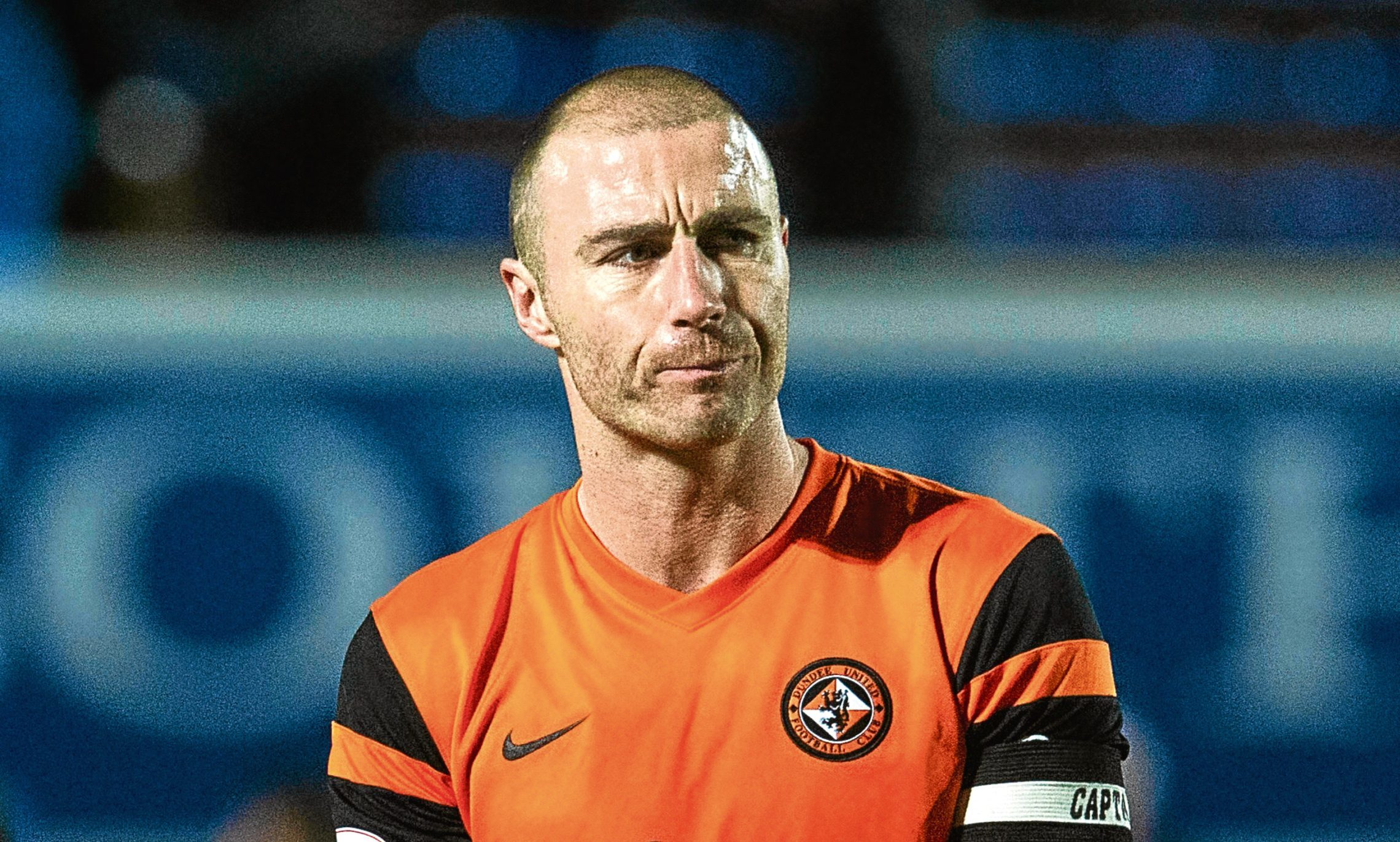 Dundee United skipper Sean Dillon is battling his way back to full fitness.