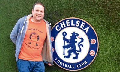 Jonny Smith at Stamford Bridge