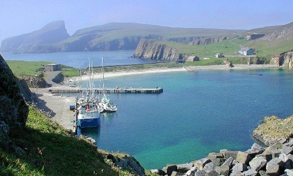 Beautiful Fair Isle has a population of just 60