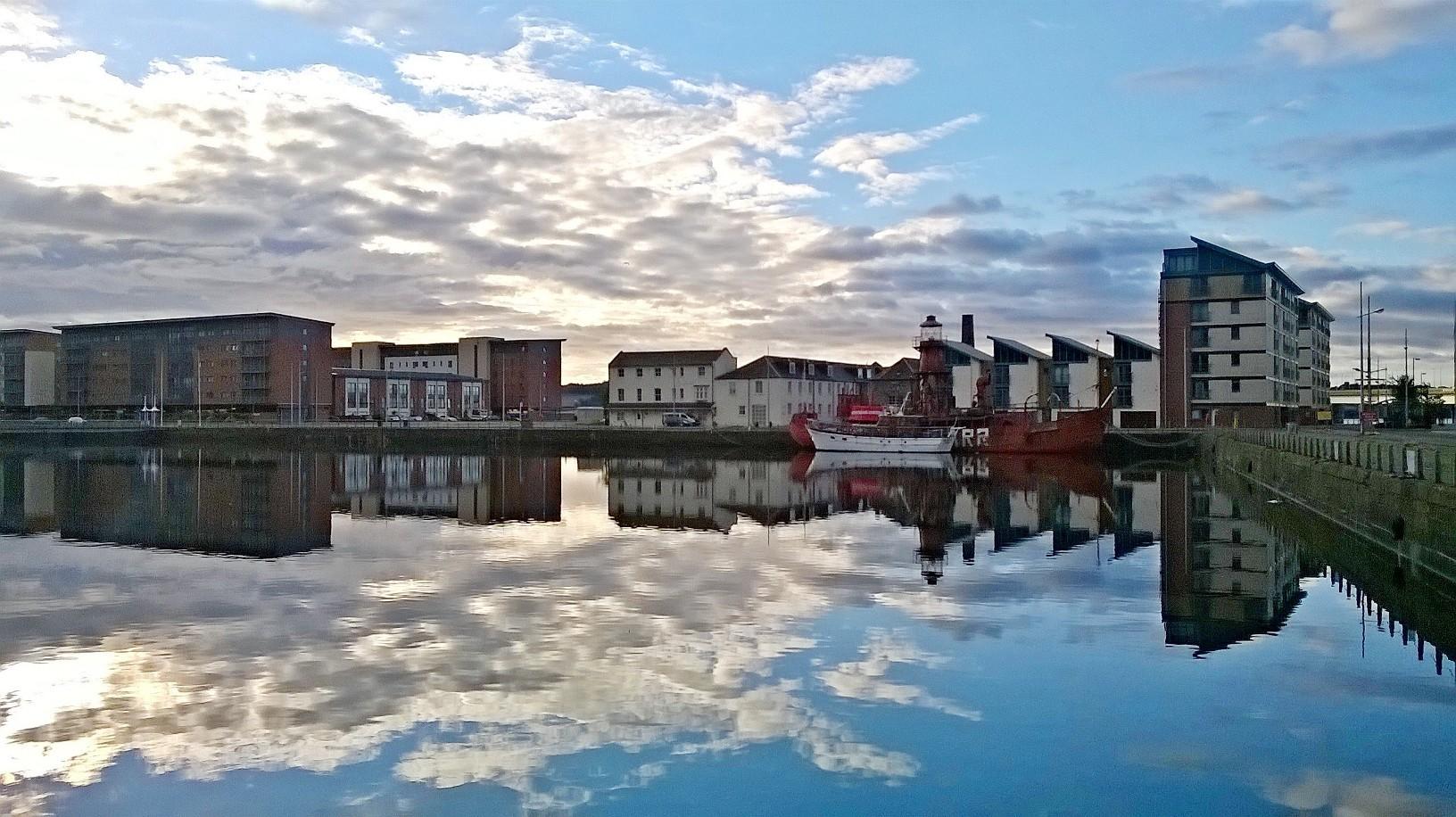 City Quay (stock image)