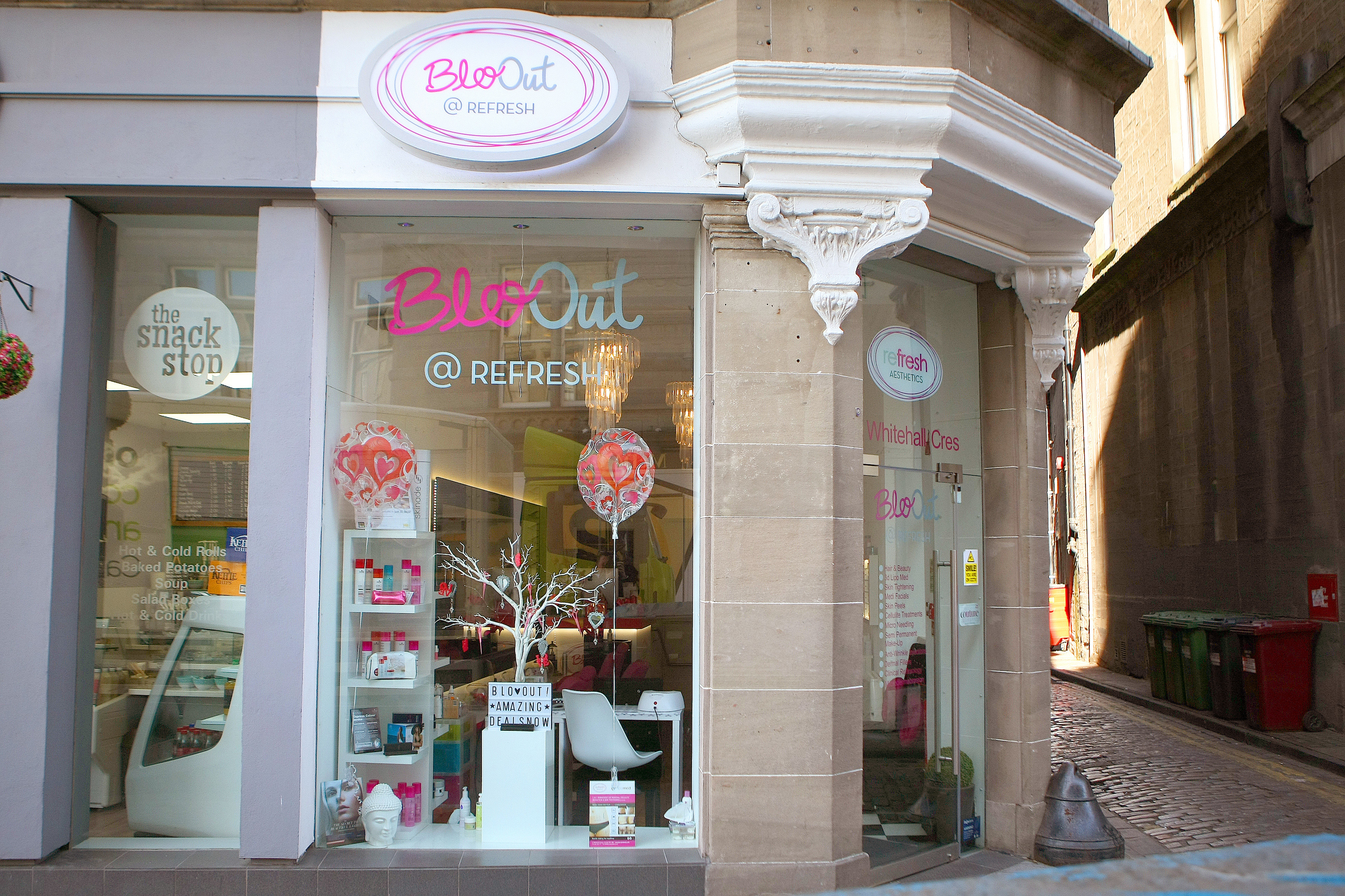 Blo Out & Refresh on Whitehall Crescent