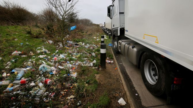 New government guidelines will see the owner of a car receive a £75 fine for littering even if they're not the one responsible