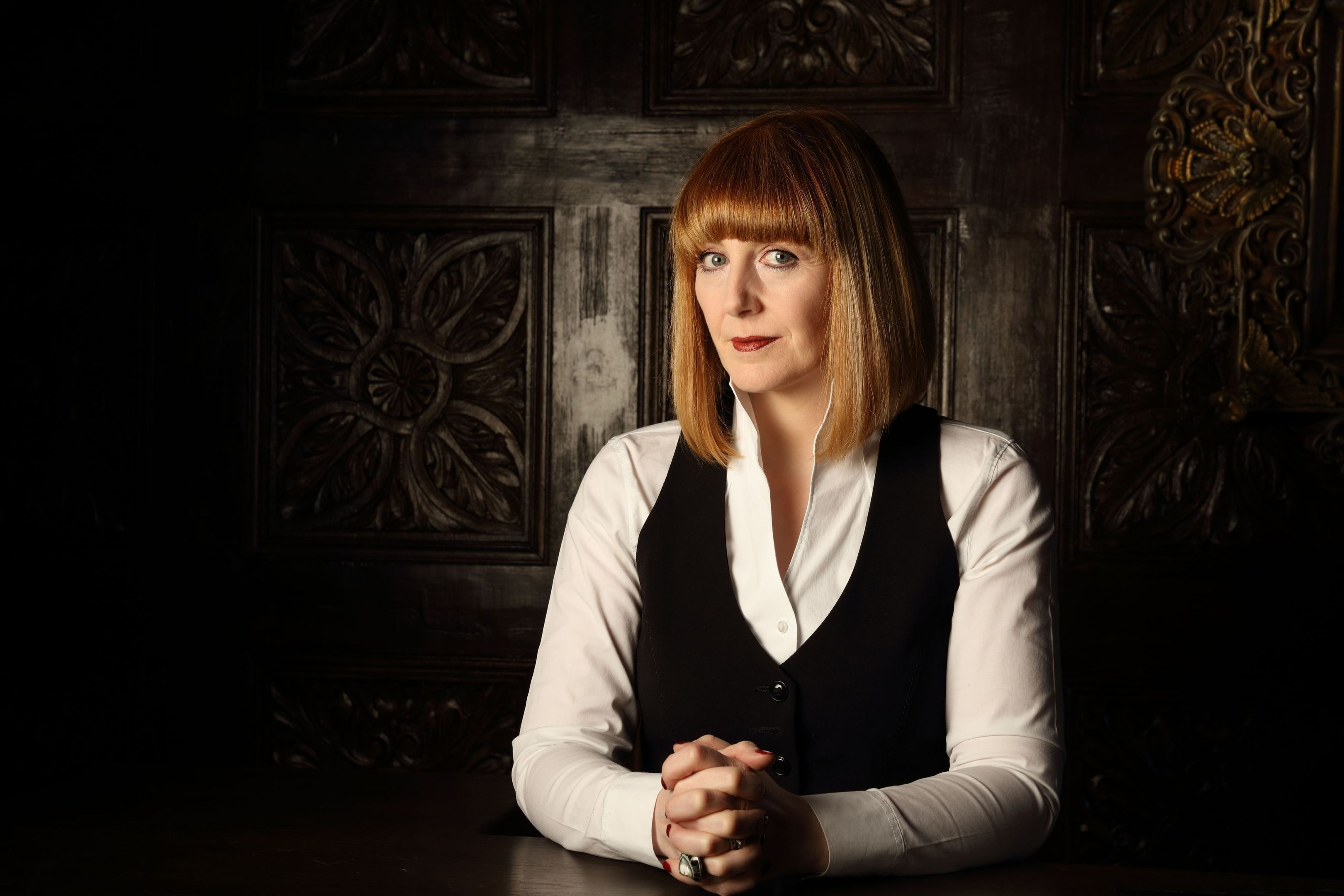 Yvette Fielding, the presenter of Most Haunted