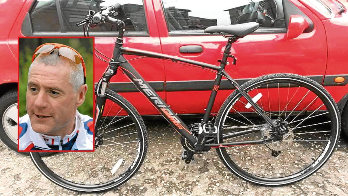 Paul Leonard had his bike stolen in Dundee.