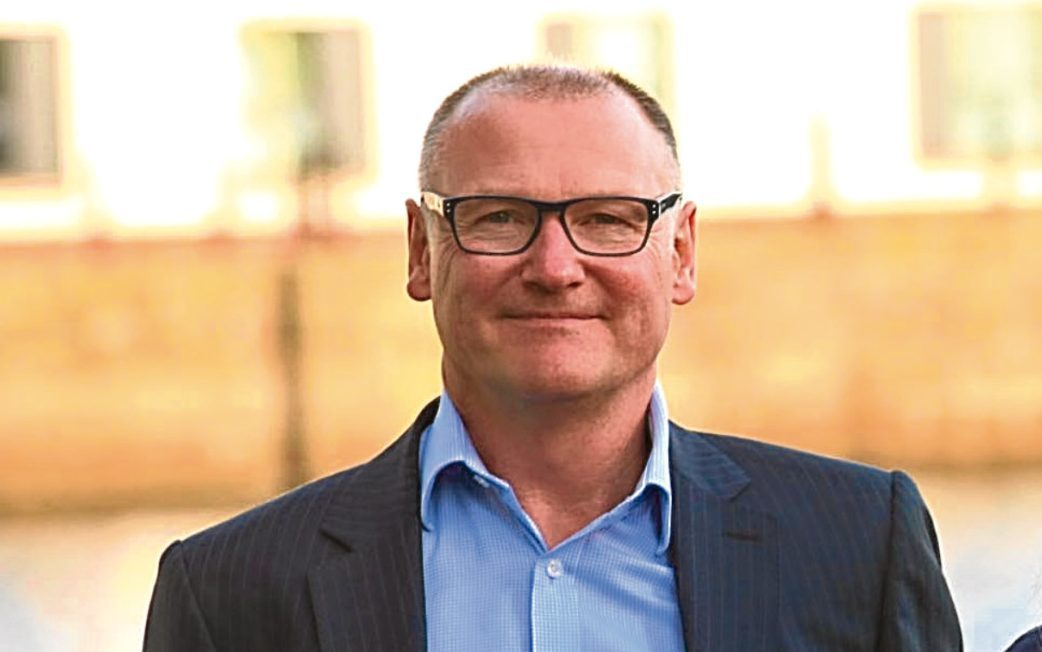 Allan Millar, employability manager for Dundee City Council.