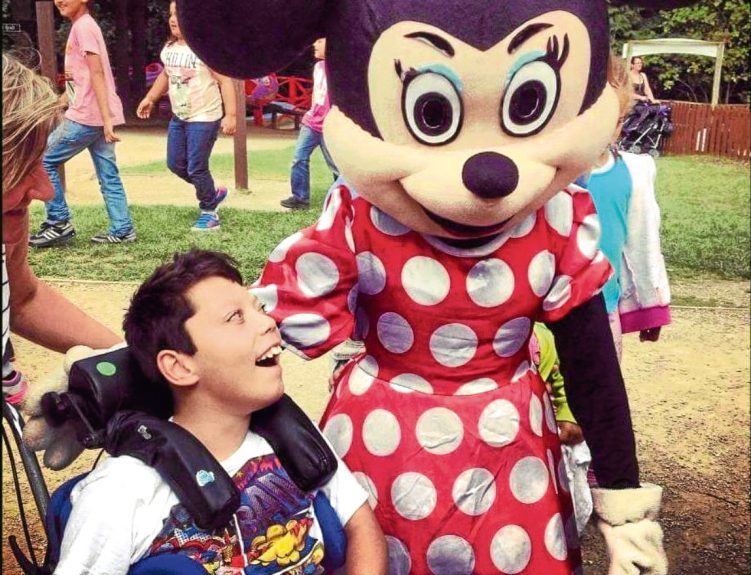 Jack with Minnie Mouse