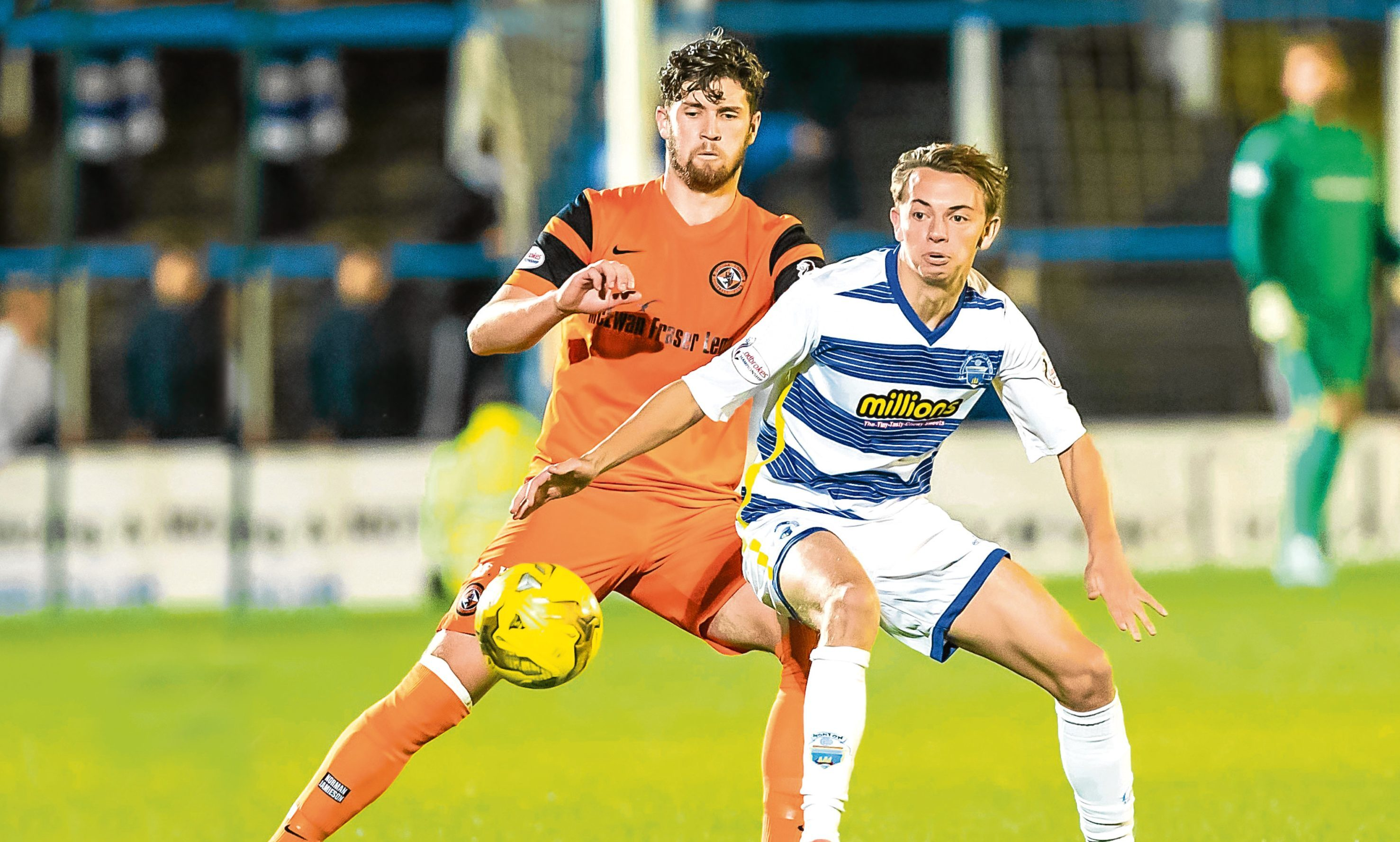 Dundee United travel to Cappielow on Saturday.