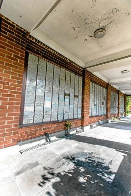 Vandalism to Dundee Crematorium over the bank holiday. Staff discovered the damage upon their return