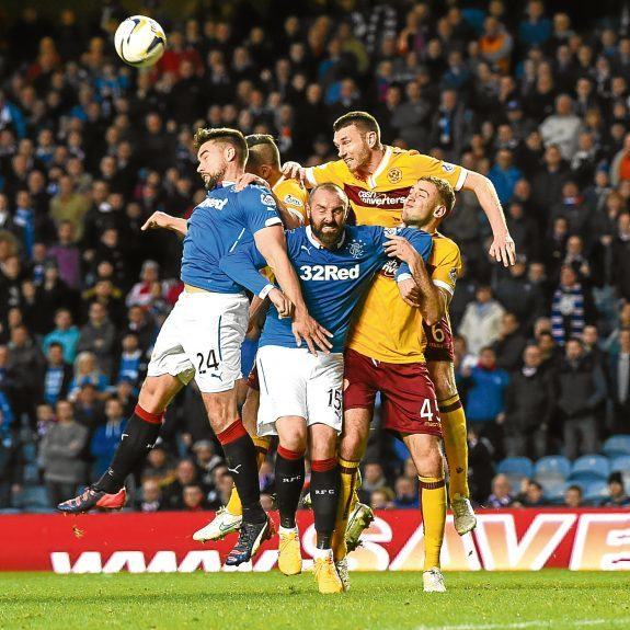 Cammy Bell tasted Premiership Play-Off action when he was part of the Rangers side that lost to Motherwell two seasons ago.