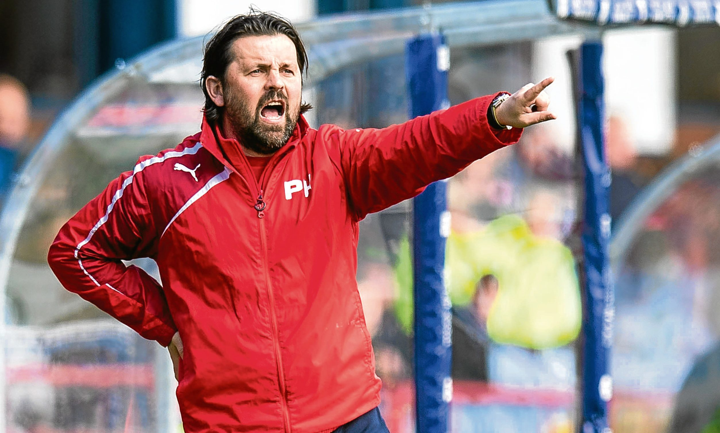 Dundee sacked manager Paul Hartley last month