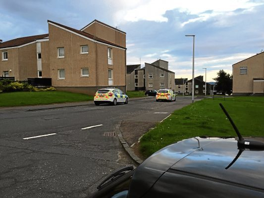 Menzieshill incident - Dochart Terrace, Yarrow terrace, Dickson Avenue
