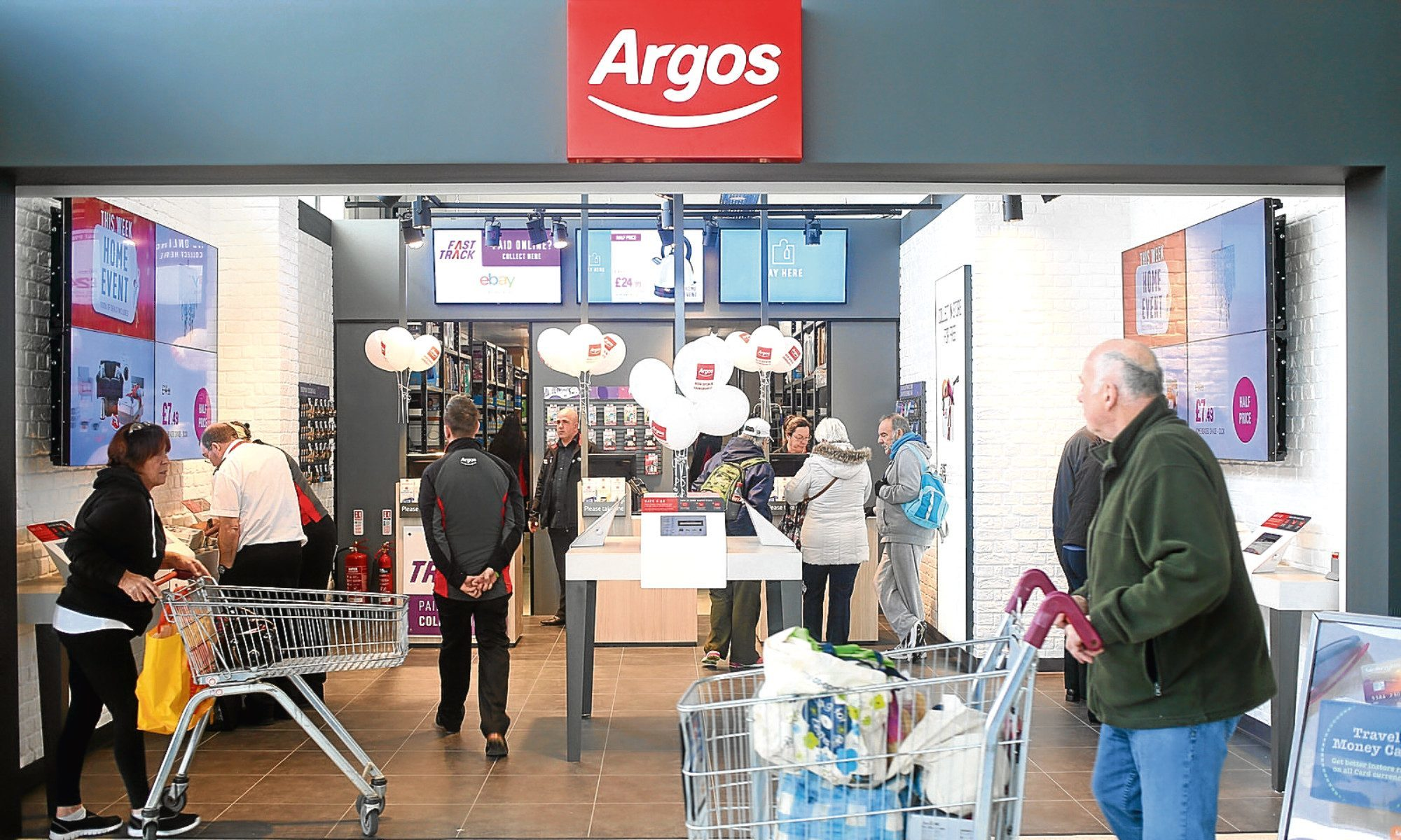 How an Argos digital store could look in Dundee