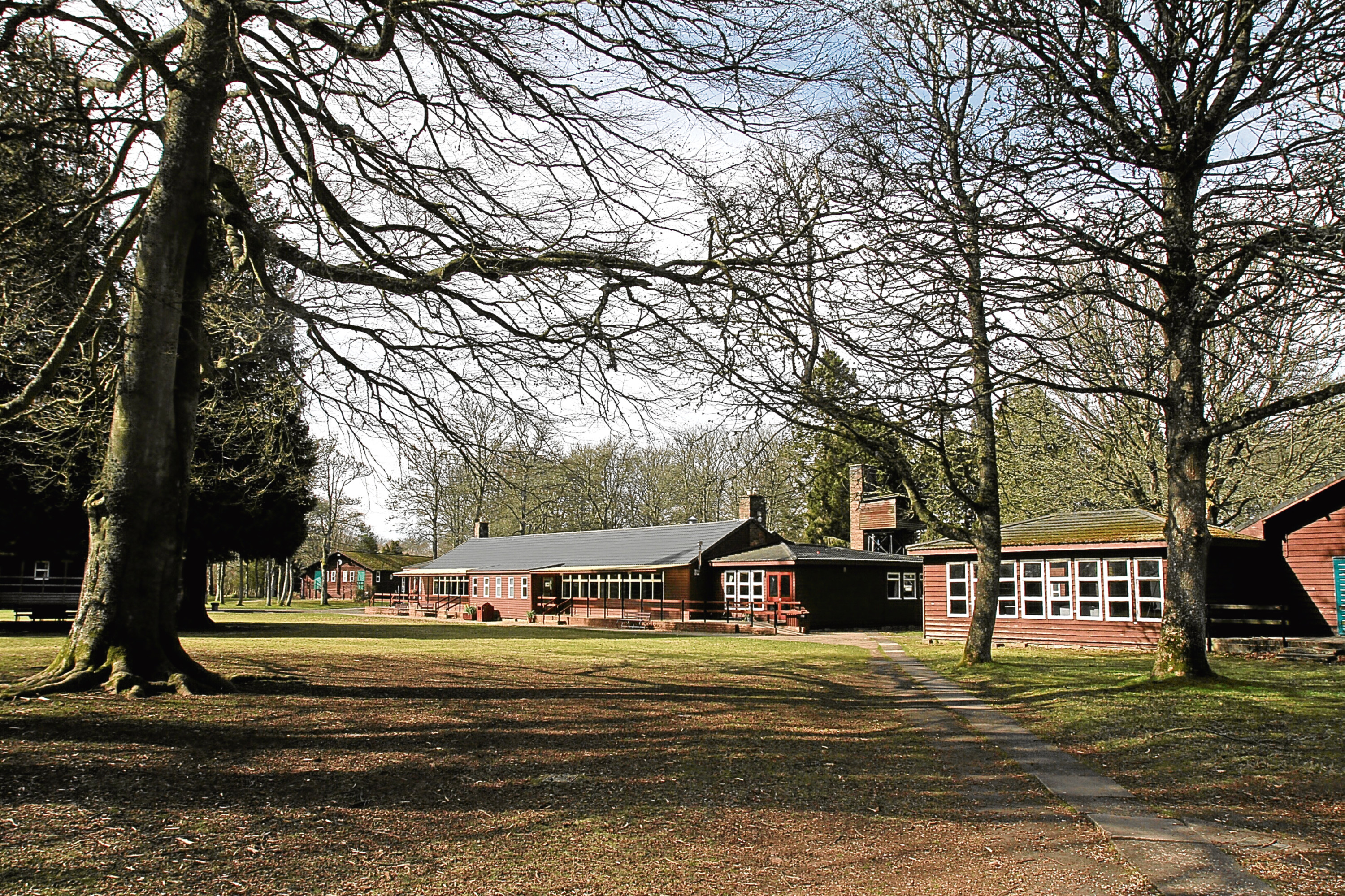 The outdoor centre on the Belmont Estate