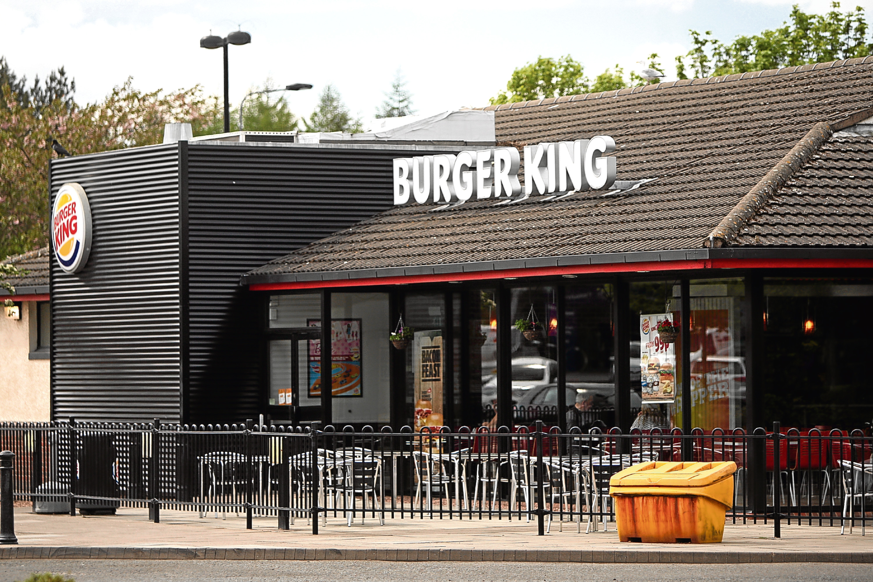 The Burger King outlet at Kingsway West Retail Park.