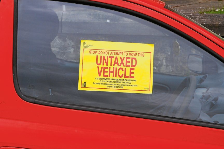 DNic_Untaxed_Vehicles