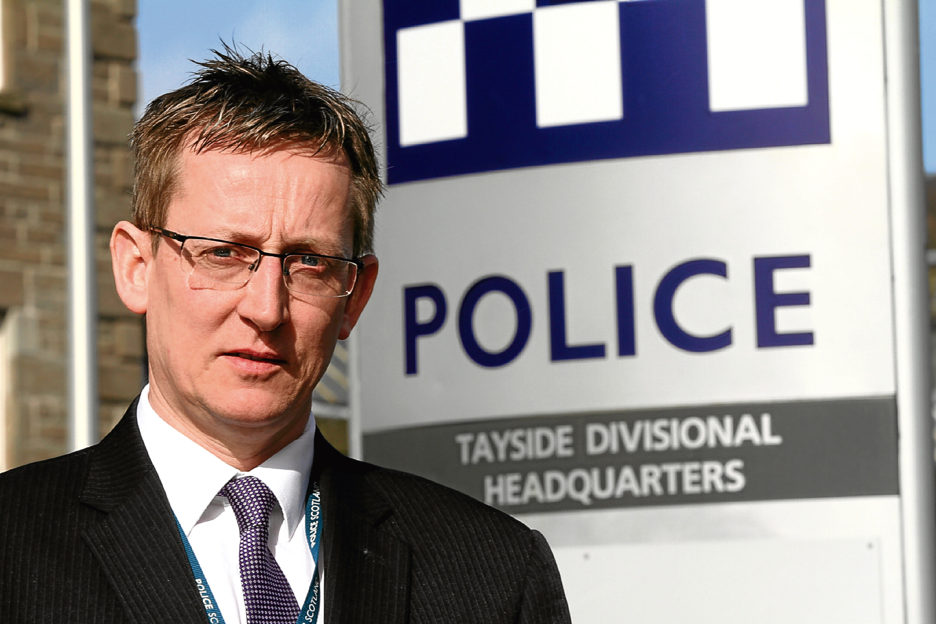 Detective Chief Inspector Iain Wales