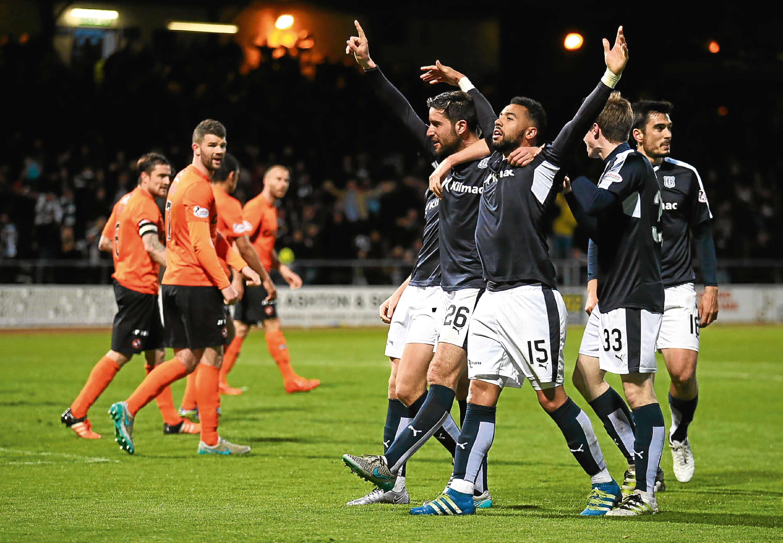 United were relegated the last time the sides met at Dens Park