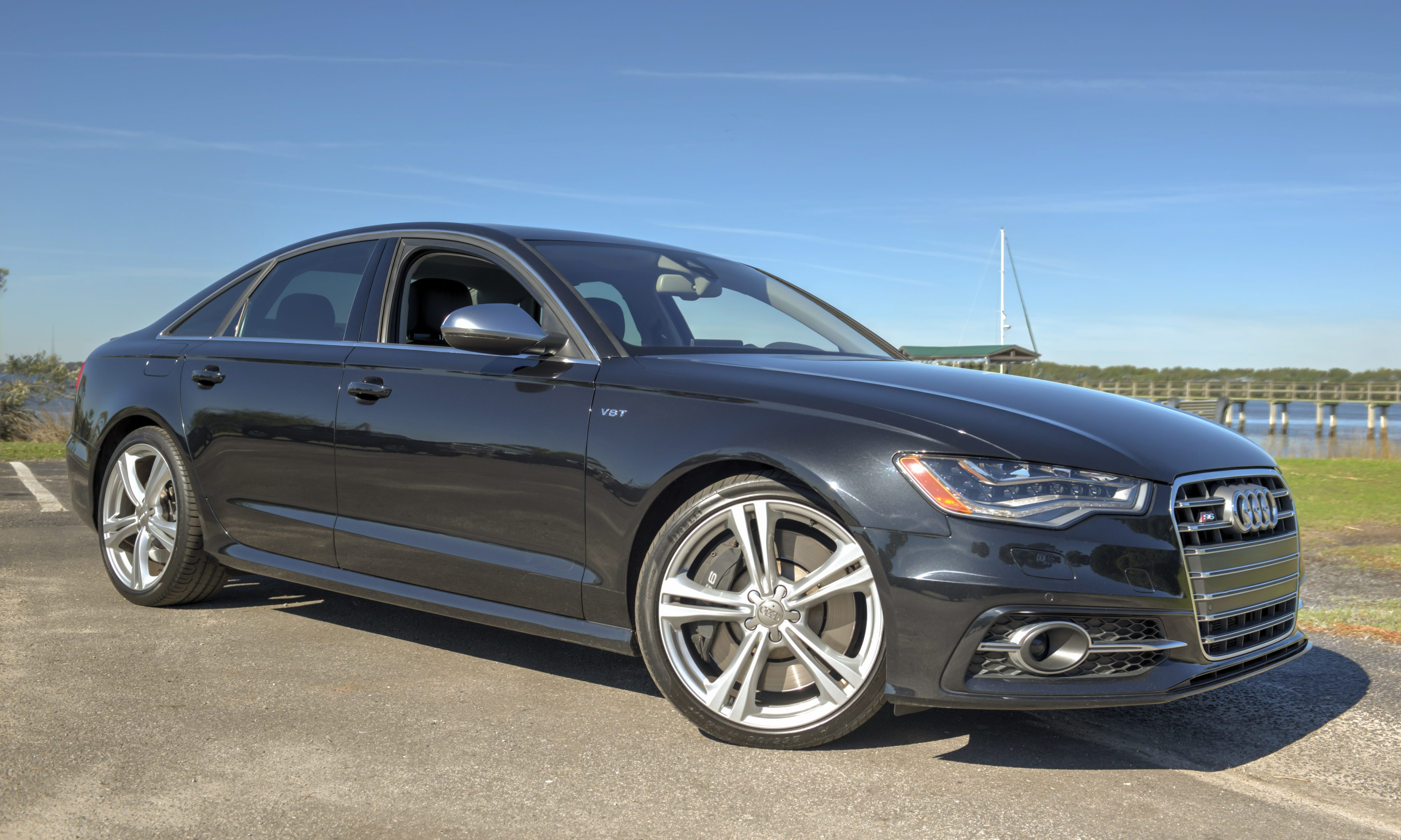 The victim was hit bay an Audi A6 (stock photo)
